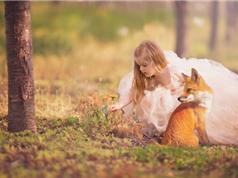 Ấn tượng với chùm ảnh trẻ nhỏ bên động vật