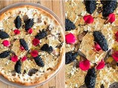 Bánh pizza phủ vàng lá 24K, giá 2.000 USD ở Mỹ