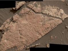 NASA phát hiện tấm bùn nứt lộ thiên trên sao Hỏa