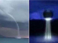 UFO bị nghi hút nước biển Địa Trung Hải bằng vòi rồng