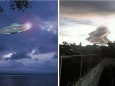 Bí ẩn UFO khổng lồ lơ lửng trên bầu trời khiến người dân phát hoảng