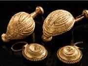 Kho báu hé lộ bí mật bên trong mộ công chúa Celtic