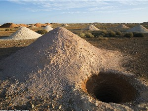 3.500 người sống trong thị trấn dưới lòng đất ở Australia