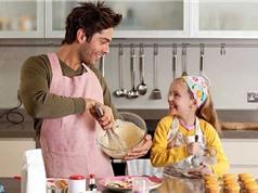 Đàn ông chăm làm việc nhà sẽ nuôi dạy con thông minh hơn