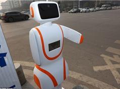 Robot ngăn người đi bộ qua đường sai vị trí