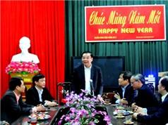Bộ trưởng Chu Ngọc Anh thăm và làm việc tại tỉnh Hà Nam