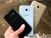 Clip: Thử độ bền bộ ba Samsung Galaxy A 2017
