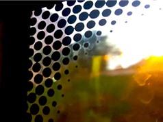 Bí mật đằng sau những chấm đen trên kính ôtô