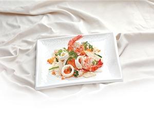 Tuyệt chiêu chế biến món su hào xào hải sản cực ngon