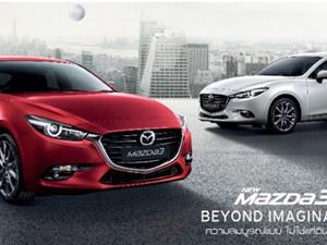 Mazda3 2017 ra mắt tại Thái Lan, công bố giá bán chính thức