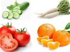 5 cặp thực phẩm cấm kỵ dùng chung vì dễ sinh bệnh