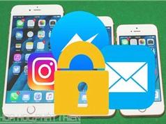 Mẹo khóa ứng dụng trên thiết bị iOS không cần jailbreak