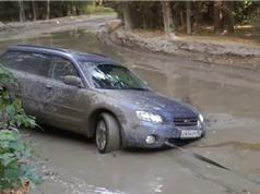 Clip: Lái xe Subaru vượt vũng bùn sâu và cái kết bất ngờ