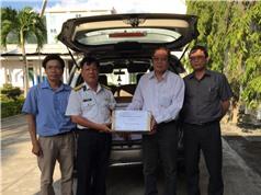 Phân viện Thú y Miền Trung hỗ trợ thú y cho các đảo huyện Trường Sa