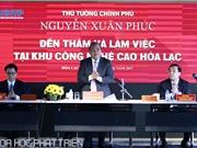"""Thủ tướng nêu """"công thức"""" để Khu CNC Hòa Lạc thành công"""