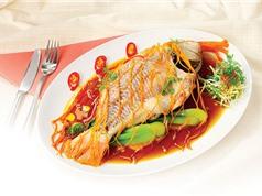 Cách chế biến món cá diêu hồng hấp nước tương ngon đúng điệu