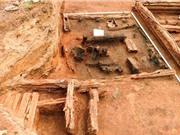 Phát hiện củ cải nướng 400 năm tuổi trong tàn tích nhà cháy