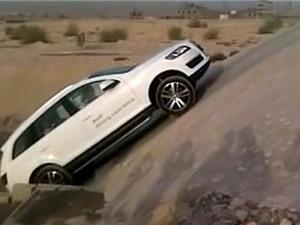 Clip: Lái Audi Q7 vượt dốc đứng vô cùng ngoạn mục