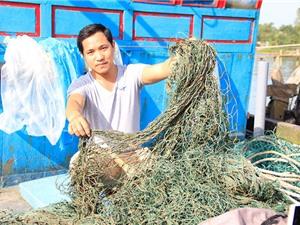 'Bùn lạ' tại ngư trường Quảng Trị