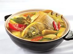 Đổi khẩu vị với món cá chép nấu bung