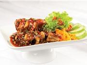Bí kíp nấu món lươn chiên giòn sốt tiêu xanh thơm ngon