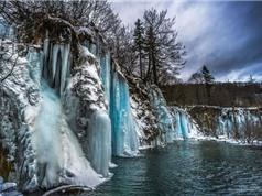 Vườn quốc gia hồ Plitvice hóa kỷ Băng hà khi Đông đến