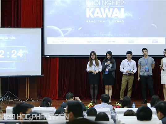 Khởi nghiệp cùng Kawai 2017: 10 đội thi thuyết phục nhà đầu tư