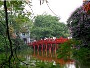 Hà Nội lọt top 10 điểm đến hấp dẫn nhất thế giới vào mùa Xuân