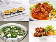 Món ngon trong tuần: Cánh gà rim nước tương cà, canh hẹ nấu thịt