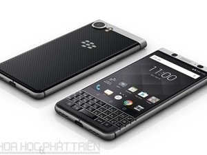 Cận cảnh BlackBerry KeyOne vừa trình làng