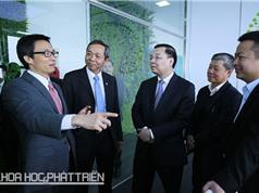 Phó Thủ tướng Vũ Đức Đam dự khai trương Trung tâm sáng tạo CMC