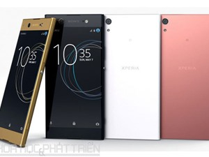 Sony ra mắt Xperia XA1, XA1 Ultra: Chip Helio P20, camera 23 MP
