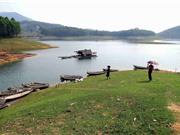 Mê mẩn trước vẻ đẹp nguyên sơ của hồ Thác Bà