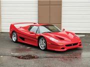 """""""Hàng hiếm"""" Ferrari F50 của Mike Tyson được rao bán"""