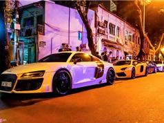 Đại gia Sài Gòn chào đón Gialai Team bằng dàn siêu xe