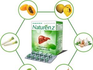 Sản phẩm giải độc gan từ 5 loại rau-củ-quả