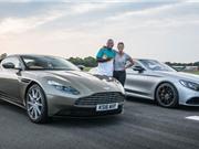 Clip: Aston Martin DB11 đua tốc độ với Mercedes-AMG S63 Coupe