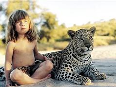 Bất ngờ về cuộc sống thực sự của cô bé người rừng Tippi