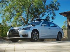Toyota thử nghiệm công nghệ tự lái trên xe Lexus LS600hL