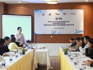 Kết nối giải pháp công nghệ xanh cho doanh nghiệp