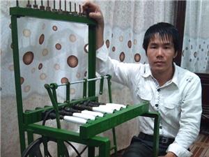 Máy đánh suốt được xuất khẩu sang Lào