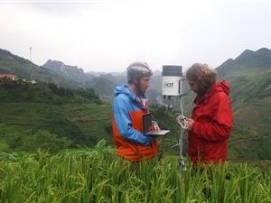 """Máy bơm không cần điện: """"Thoát nghèo"""" về nước cho cao nguyên đá Đồng Văn"""