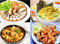 Món ngon trong tuần: Canh bí đao nhồi thịt, cháo lươn Nghệ An