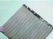 Clip: Công cụ mới làm sạch dầu trong các sự cố tràn dầu trên biển