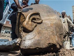 Phát hiện 2 tượng pharaoh niên đại hơn 3.000 năm tại Cairo