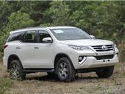 Chi tiết xe Toyota Fortuner thế hệ mới