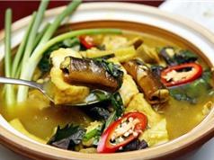 Mẹo chế biến món lươn om chuối đậu đạt chuẩn nhà hàng