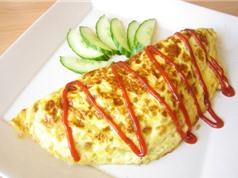 Bí quyết làm món trứng cuộn cơm ngon như người Nhật