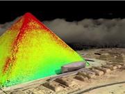 Tiết lộ hình ảnh 3D về cấu trúc bên trong kim tự tháp
