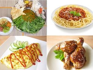 Món ngon trong tuần: Lẩu nấm chay, chè trôi nước, mì Ý